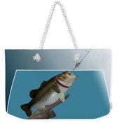 Fish Mount Set 13 D Weekender Tote Bag