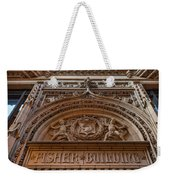 Fisher Building Chicago Weekender Tote Bag
