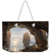 Fisherman In A Grotto Helgoland Weekender Tote Bag by Christian Ernst Bernhard Morgenstern