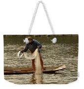 Fisherman Mekong 2 Weekender Tote Bag