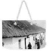 Fishermans Cottages In Claddagh Ireland Weekender Tote Bag