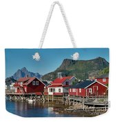 Fishermen's Houses Weekender Tote Bag