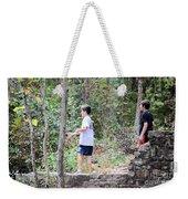 Fishing Beyond The Gristmill Weekender Tote Bag