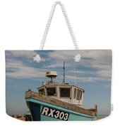Fishing Boat Weekender Tote Bag