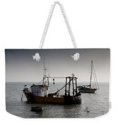 Fishing Boat Essex Weekender Tote Bag