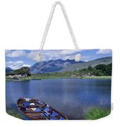 Fishing Boat On Upper Lake, Killarney Weekender Tote Bag