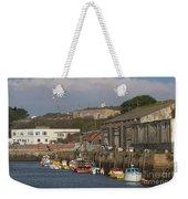 Fishing Boats Hayle Harbour Weekender Tote Bag