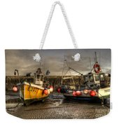 Fishing Boats On The Cobb Weekender Tote Bag
