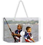 Fishing Brothers Weekender Tote Bag