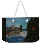Fishing By The Falls Weekender Tote Bag