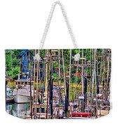 Fishing Docks Hdr Weekender Tote Bag