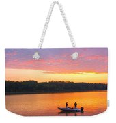 Fishing For Gold Weekender Tote Bag