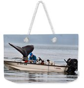 Fishing For Whales Weekender Tote Bag