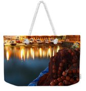 Fishing Harbour At Dusk Weekender Tote Bag