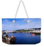 Fishing Harbour, Dunmore East, Ireland Weekender Tote Bag