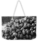 Fishing Nets And Buoys Weekender Tote Bag
