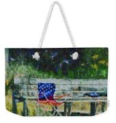 Fishing On Memorial Day Weekender Tote Bag