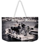 Fishing On The Golden Horn Weekender Tote Bag by Joan Carroll