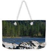 Fishing Spot Weekender Tote Bag