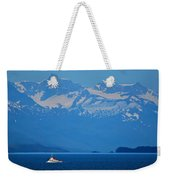 Fishing The Inside Passage Weekender Tote Bag