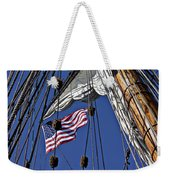 Flag In The Rigging Weekender Tote Bag