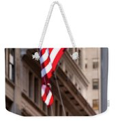 Flag On Broadway Weekender Tote Bag