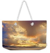 Flagstaff Fire Sky Boulder Colorado Weekender Tote Bag