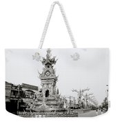 Flamboyant Clock Tower Weekender Tote Bag