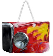 Flaming Hot Rod 2 Weekender Tote Bag