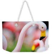 Flamingo 5 Weekender Tote Bag