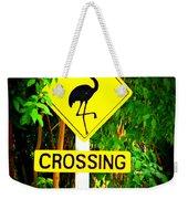 Flamingo Crossing Weekender Tote Bag
