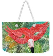 Flamingo Mask 2 Weekender Tote Bag