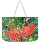 Flamingo Mask 4 Weekender Tote Bag