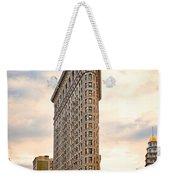 Flatiron Building Weekender Tote Bag
