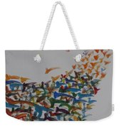 Fleet Of Birds Weekender Tote Bag