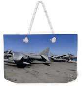 Flight Deck Personnel Reposition Av-8b Weekender Tote Bag