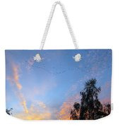 Flight Into The Sunset Weekender Tote Bag