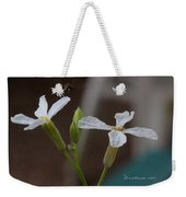 Flight Of The Bee Weekender Tote Bag