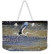 Flight Of The Egret V5 Weekender Tote Bag