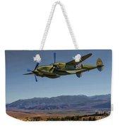 Flight Over The Sierras Weekender Tote Bag