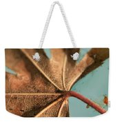 Floating And Drifting Weekender Tote Bag by Laurie Search