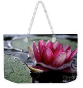 Floating Floral Weekender Tote Bag