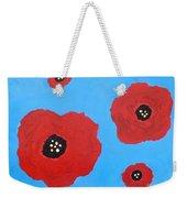 Floating Flowers Weekender Tote Bag