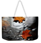 Floating Maple Leaves Weekender Tote Bag