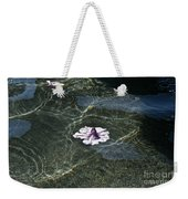 Floating On Reflections Weekender Tote Bag