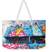 Floating Thru Mardi Gras Weekender Tote Bag by Steve Harrington