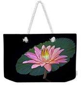 Floating Water Lily Weekender Tote Bag