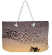Flock Of European Starlings Weekender Tote Bag