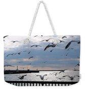 Flocking Gulls Weekender Tote Bag