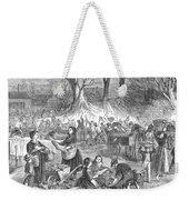 Flood Of Fish, 1867 Weekender Tote Bag